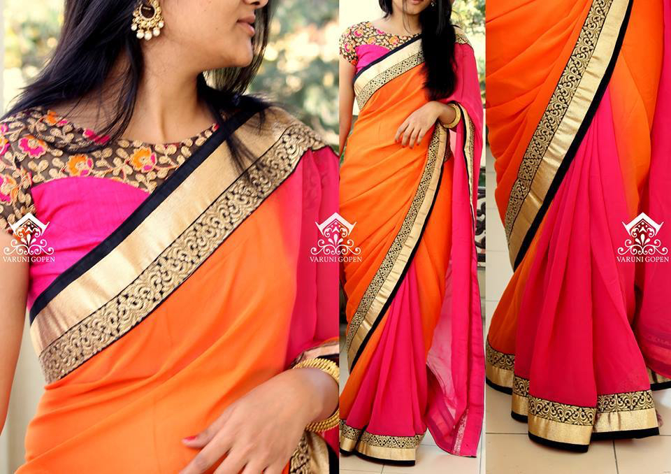 Customised saree