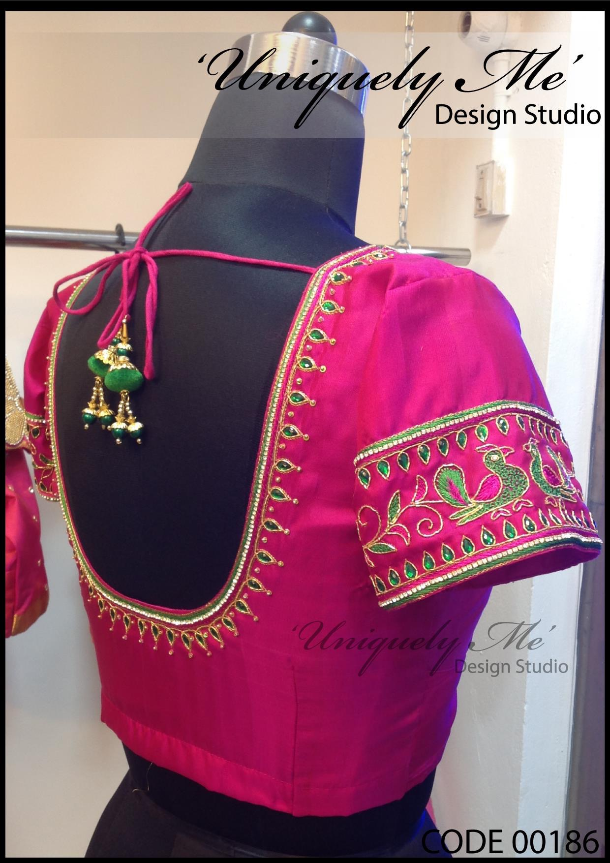 Bridal blouse stitching in ECR