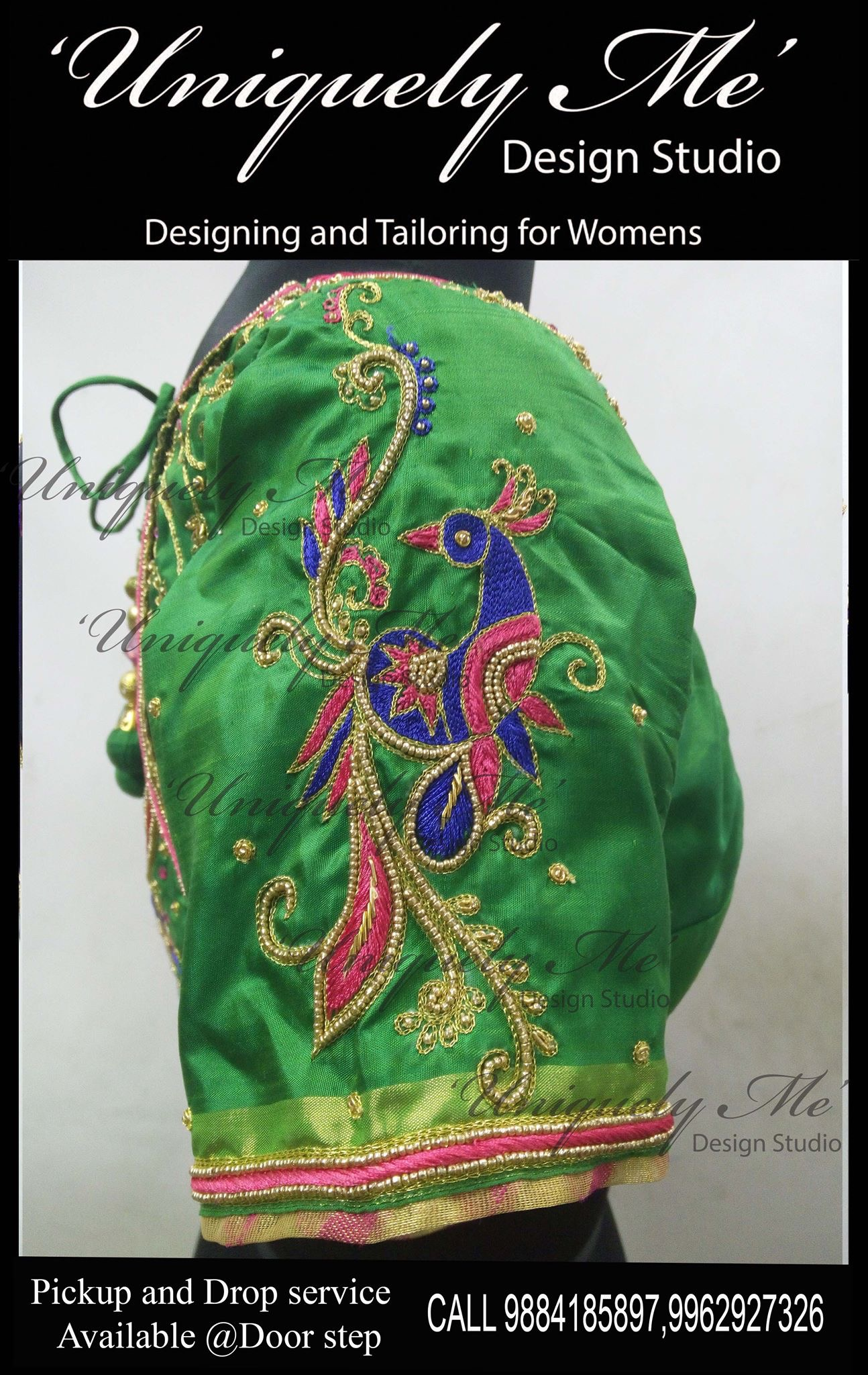 Aari work blouse in Mylapore