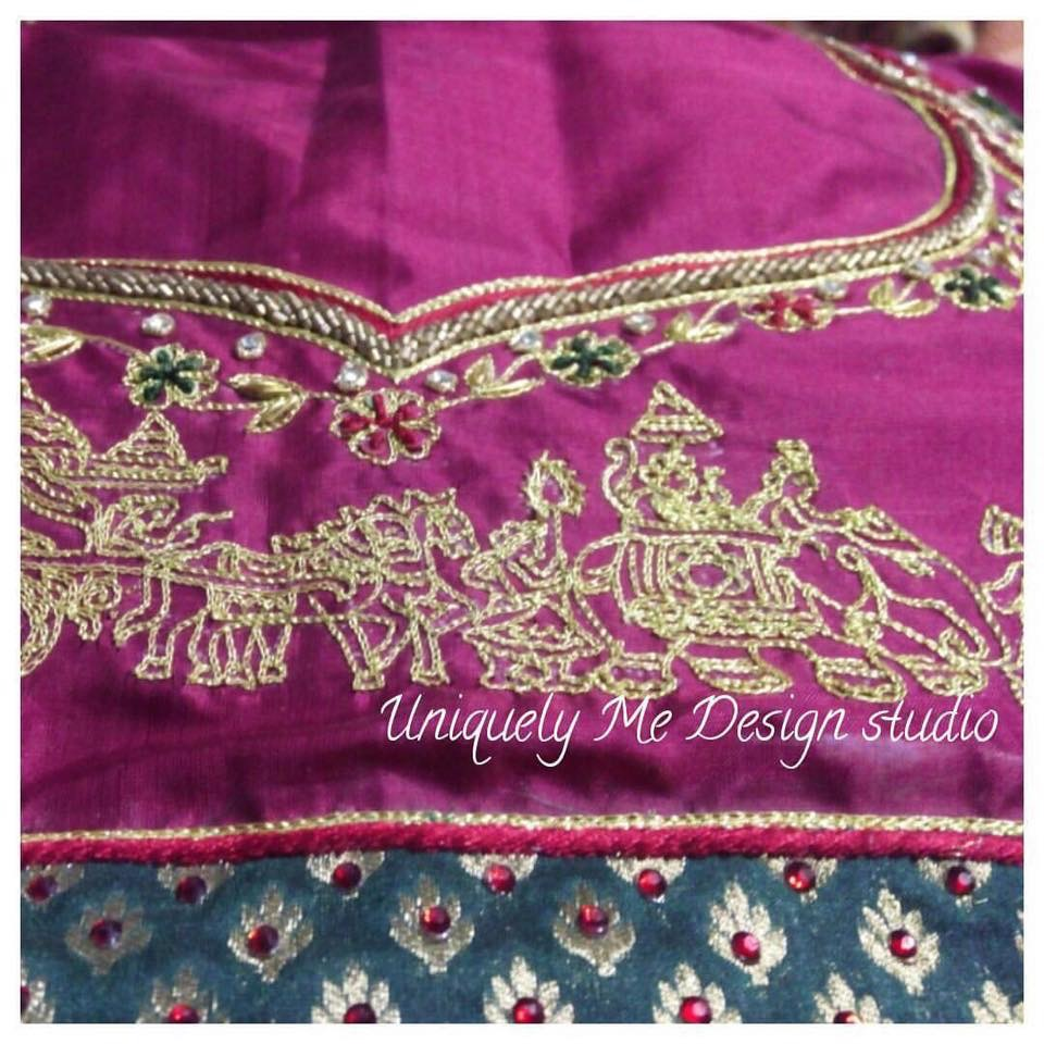 Wedding blouse stitching in Mylapore