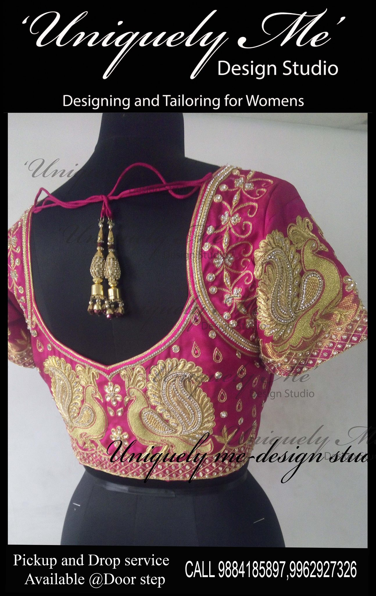 Bridal blouse stitching in Mylapore