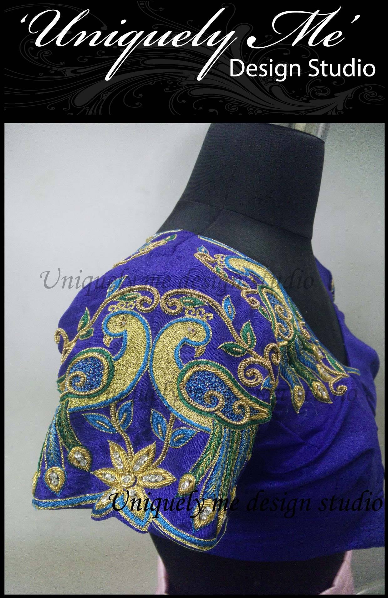 Bridal blouse design in Mylapore