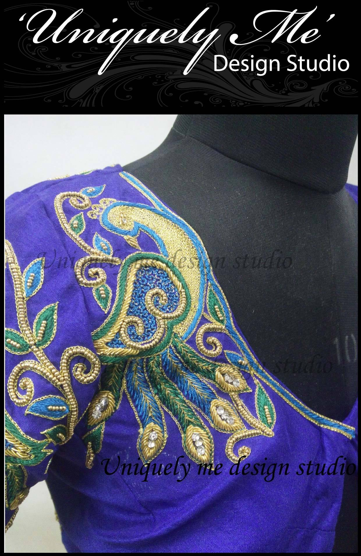 Silk bridal blouse in Mylapore