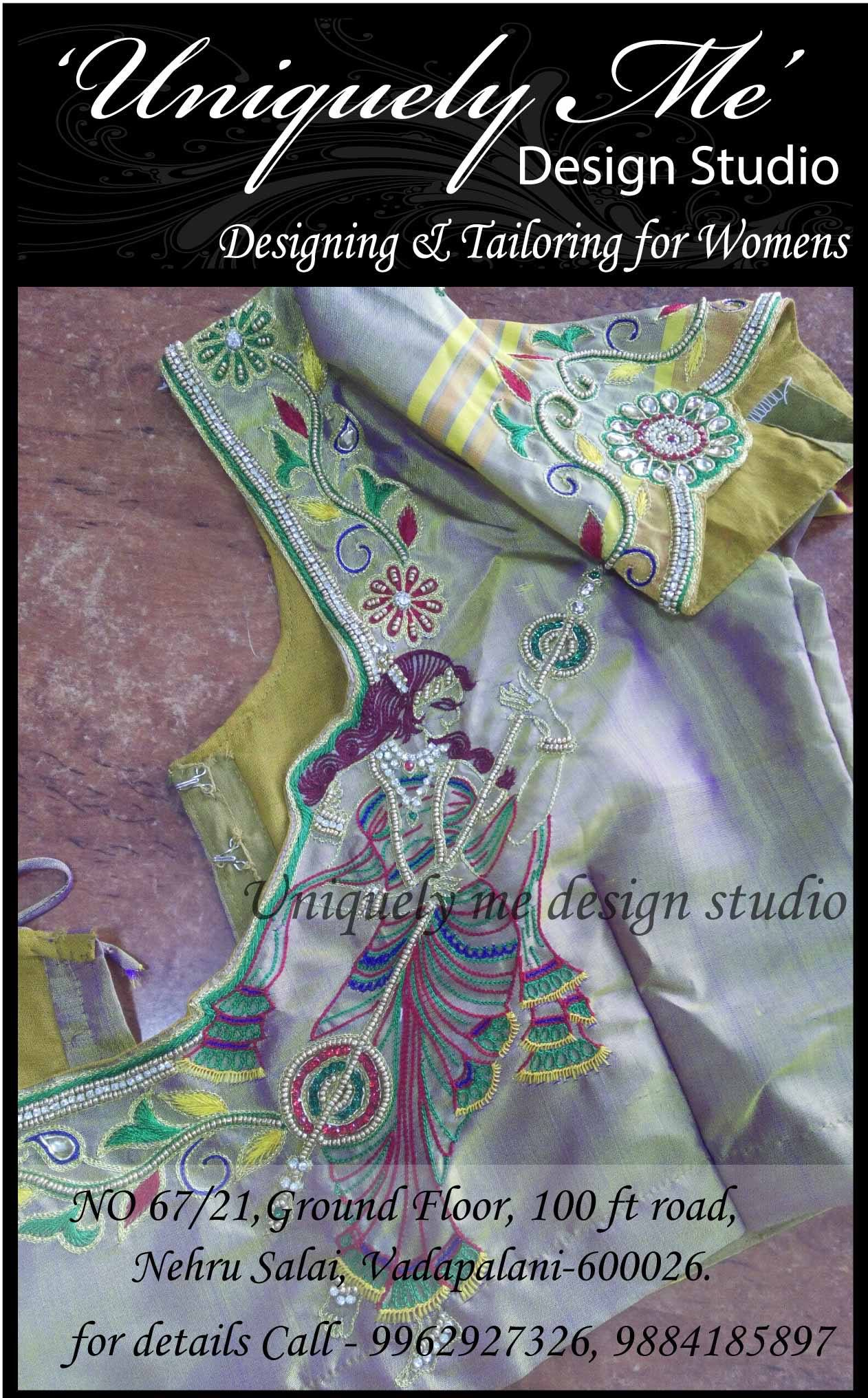 Reception blouse stitching in Mylapore