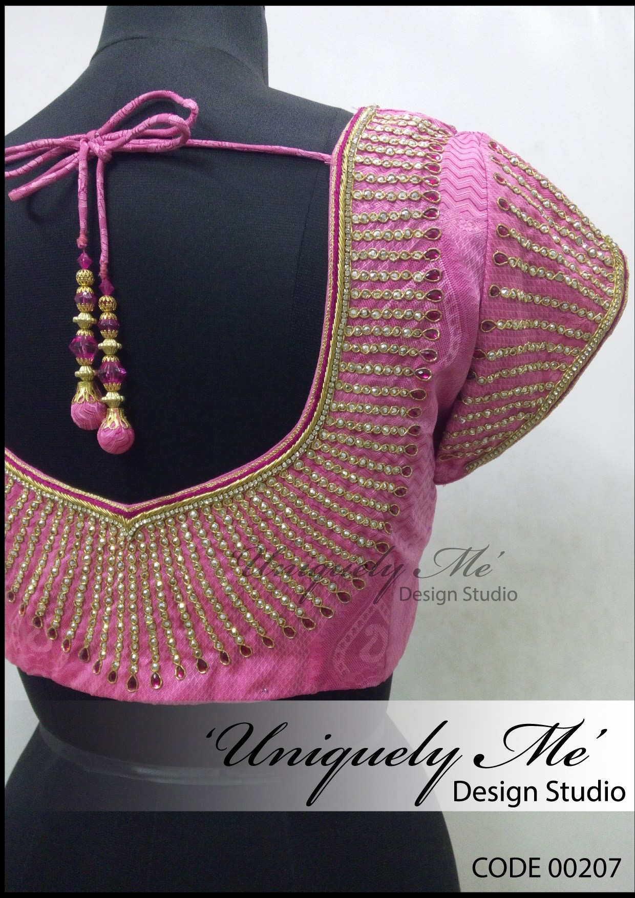 Bridal embroidery blouse in T Nagar
