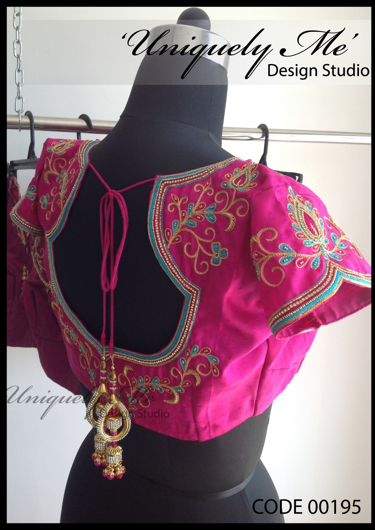 Heavy embroidery blouse in T Nagar