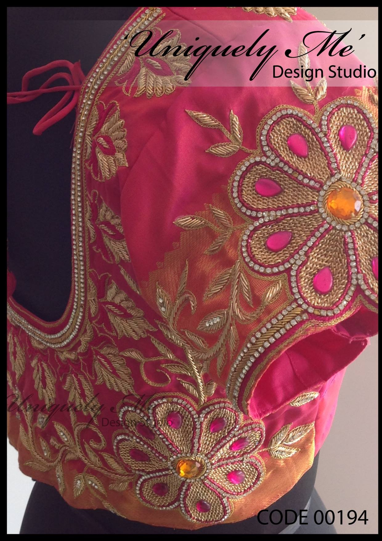 Simple embroidery blouse in T Nagar