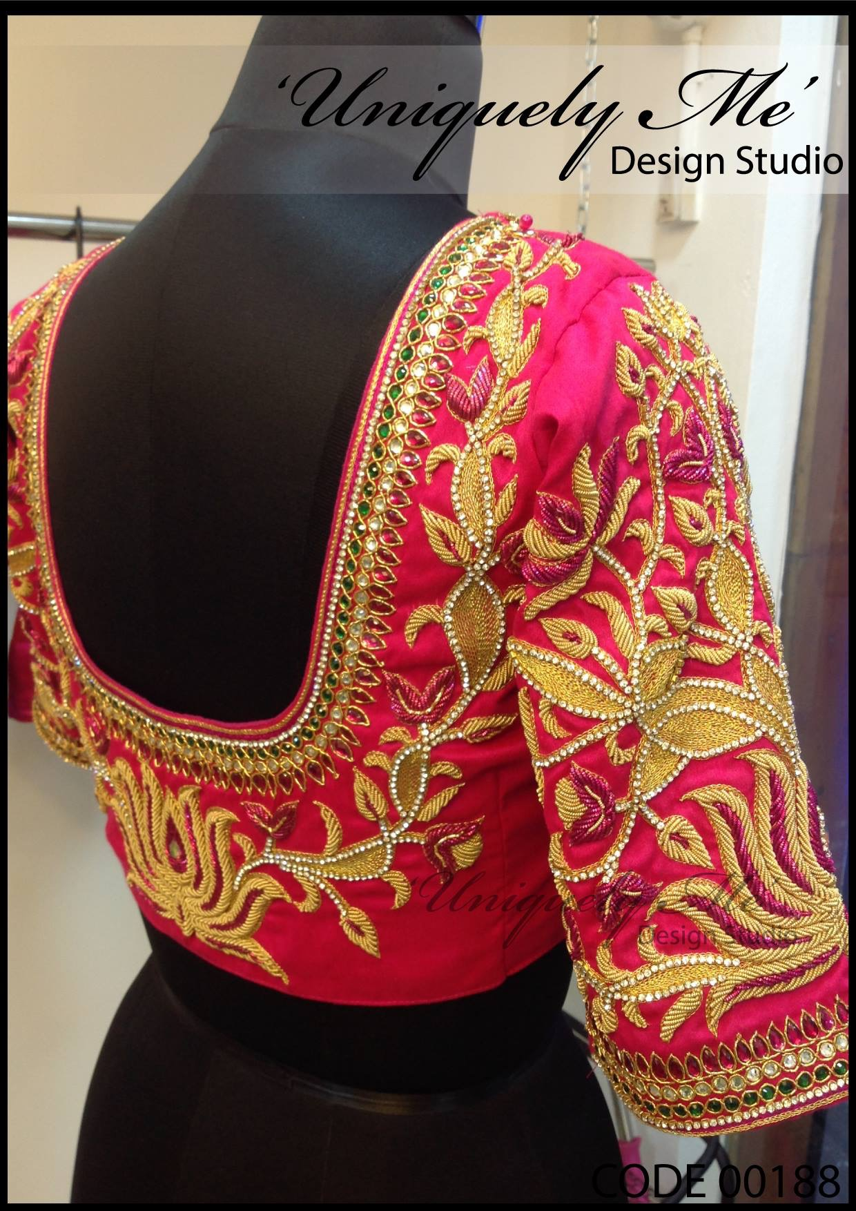 Designer embroidery blouse in Avadi