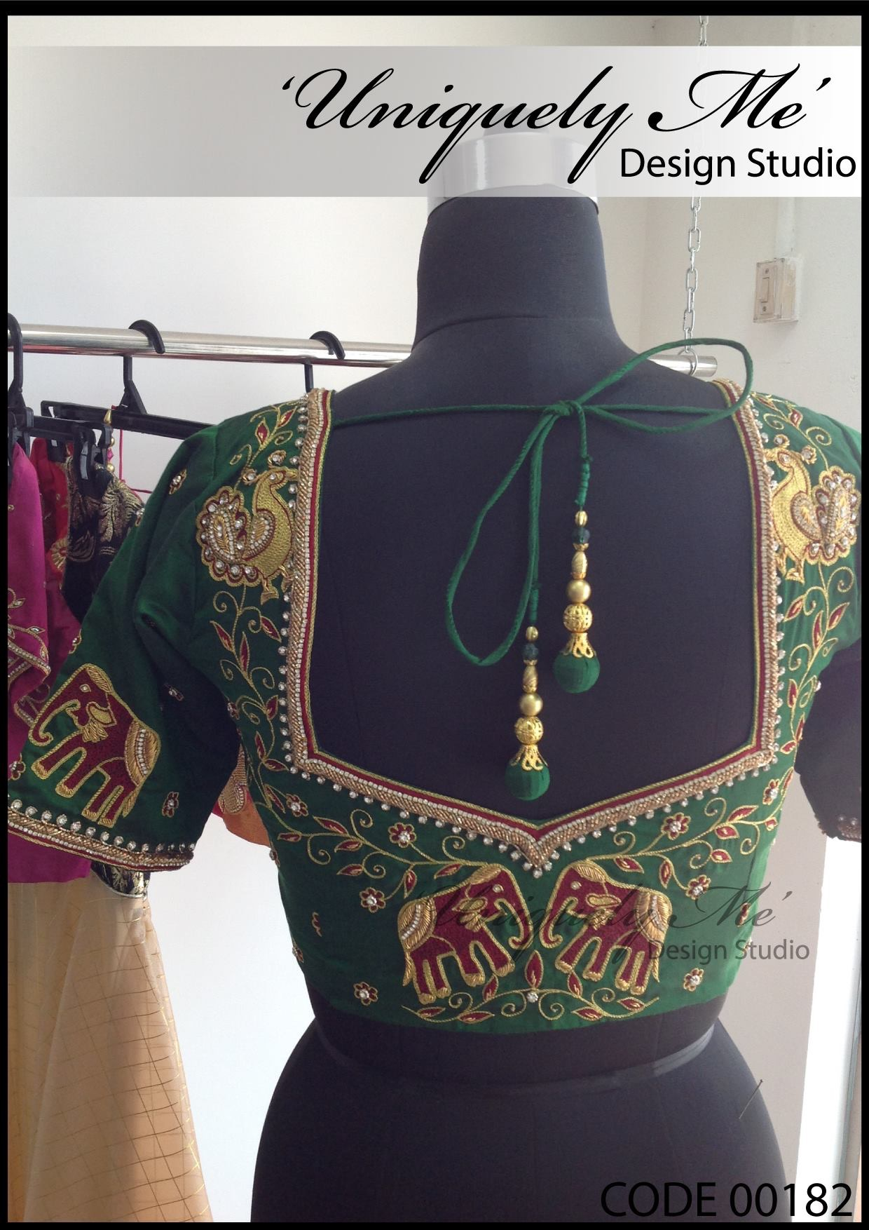 Simple embroidery blouse in Avadi