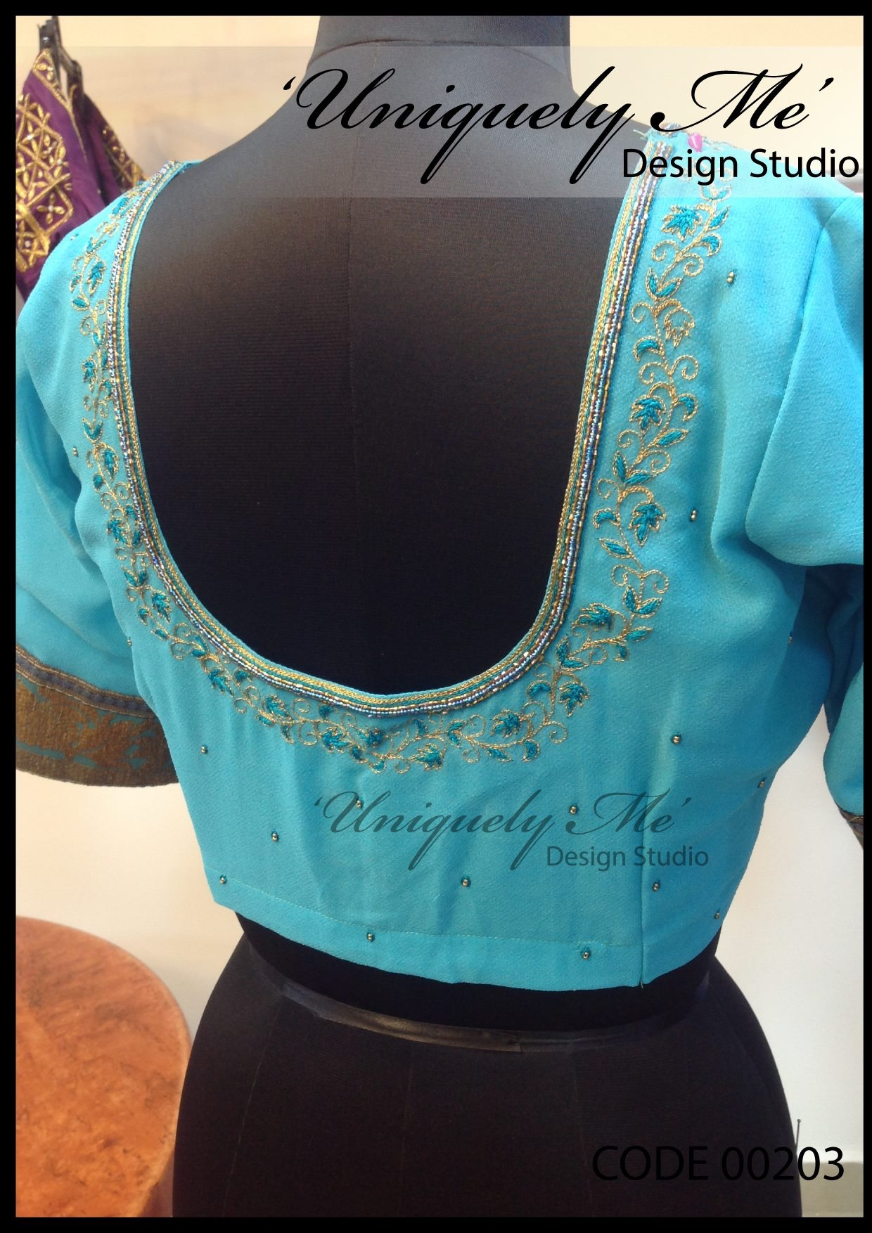Reception blouse in Padi