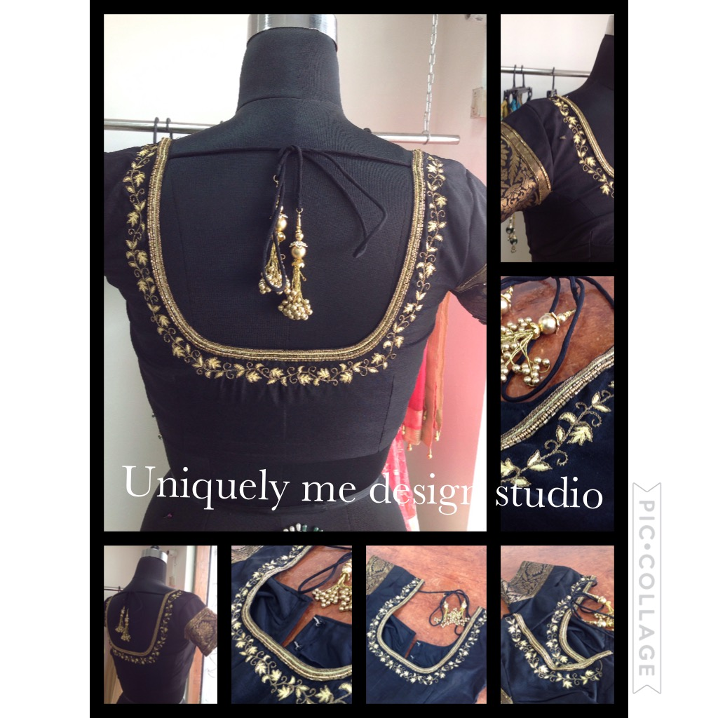 Heavy embroidery blouse in Padi