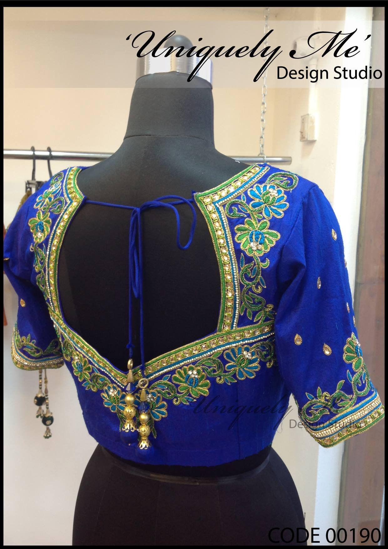 Heavy embroidery blouse in vadapalani