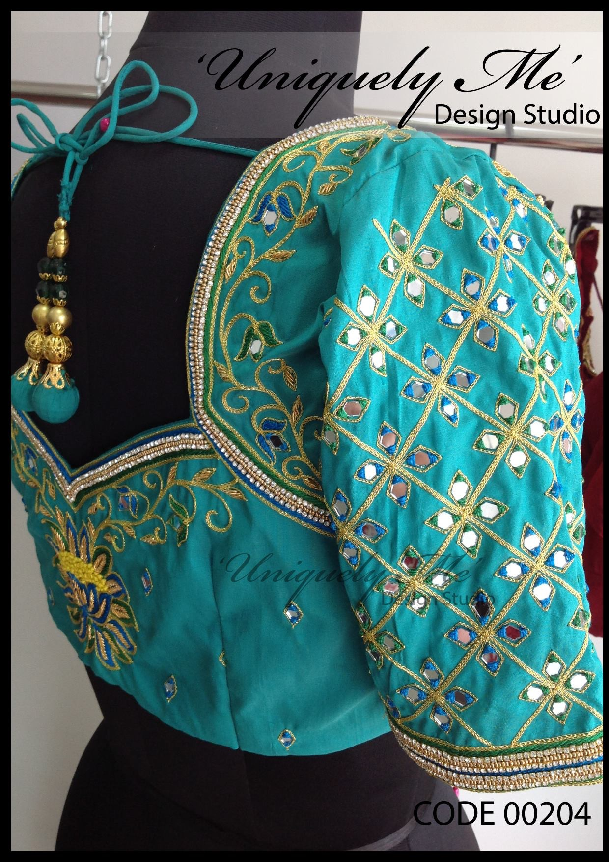 Bridal embroidery blouse in Koyambedu
